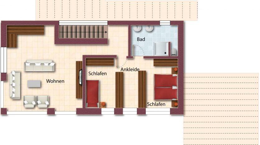 Kandern-Obergeschoss